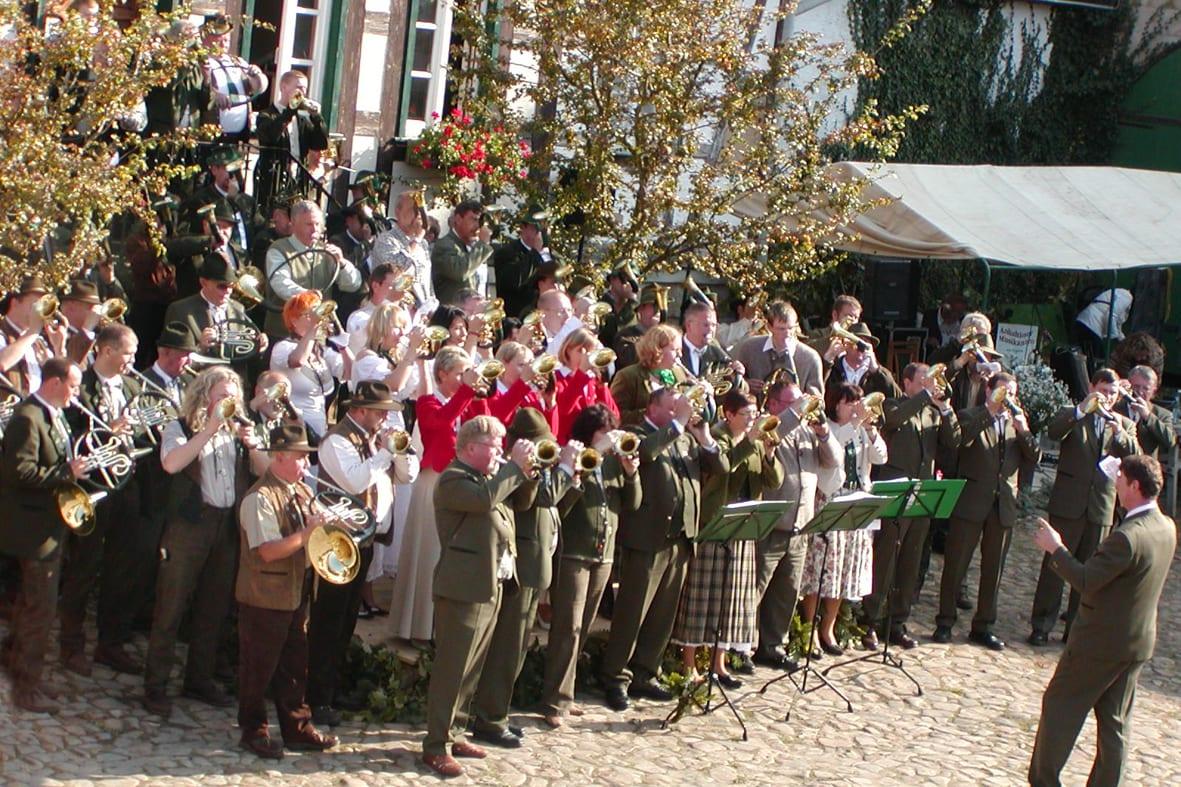 3. Bläsertreffen in Langenstein – 2008